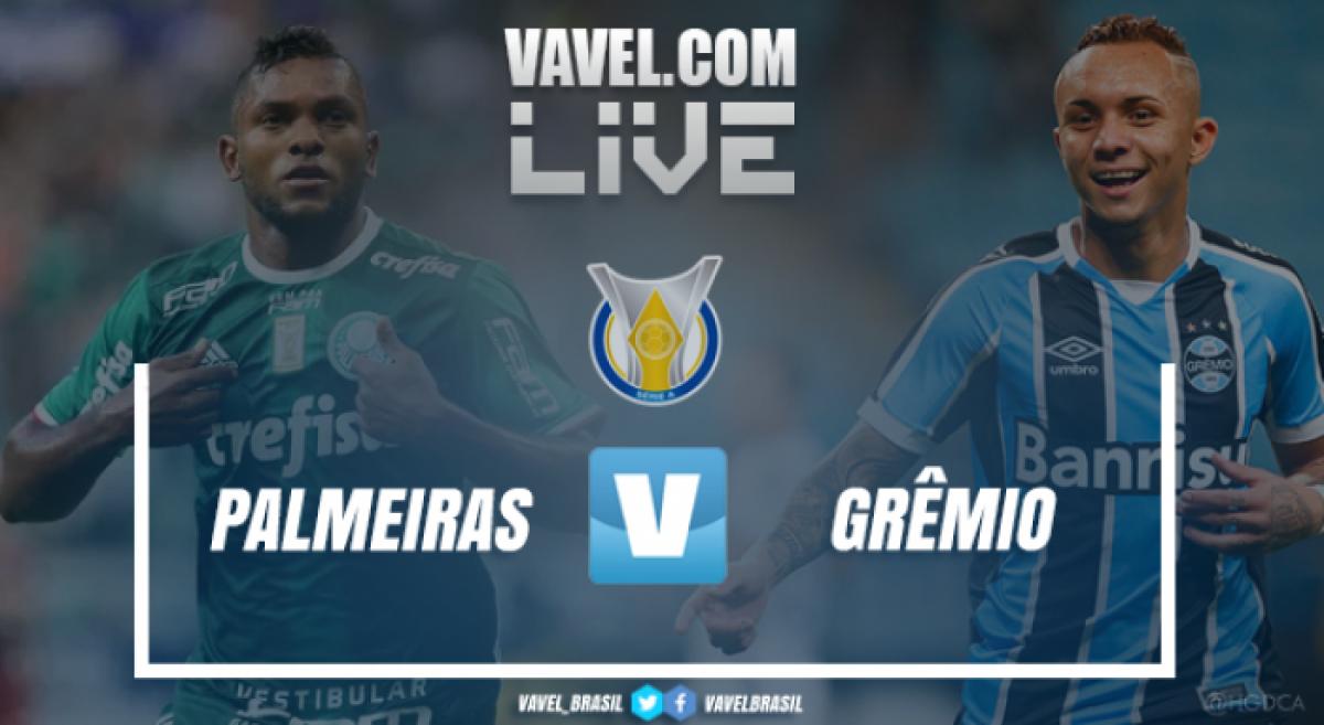 Grêmio perde para o Palmeiras pelo Campeonato Brasileiro 2018 (0-2)