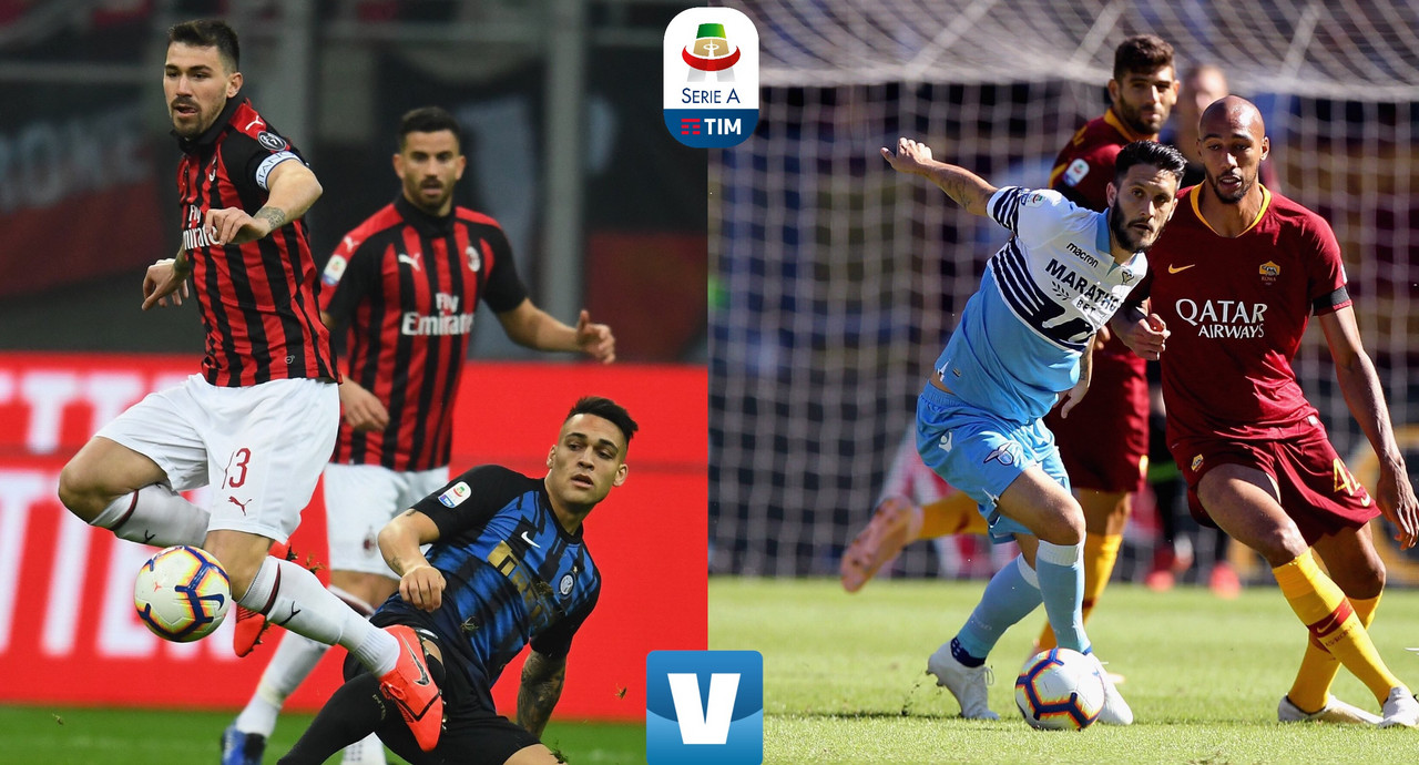 Serie A - Riparte la corsa Champions: Inter e Milan cercano la fuga, le romane inseguno