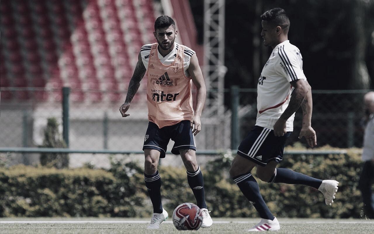 Liziero faz exames e segue como dúvida no São Paulo para final do Paulista