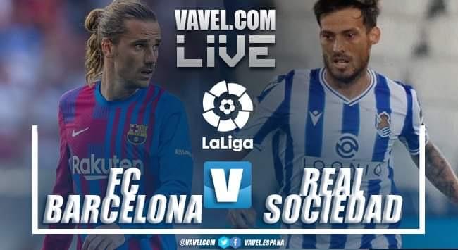 Resumen Barcelona vs Real Sociedad en LaLiga (4-2)