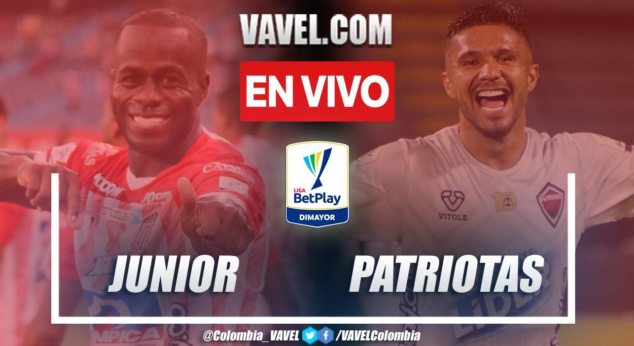 Resumen: Junior FC 1-0 Patriotas por la fecha 12 de la Liga BetPlay 2021-II