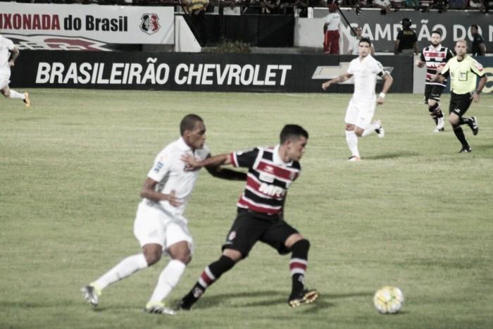 Santos vence Santa Cruz e conquista primeira vitória fora de casa no Brasileiro
