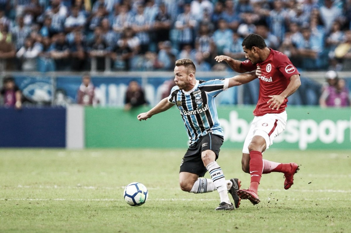 Em clássico sem emoções, Grêmio e Internacional ficam no empate pelo Brasileiro
