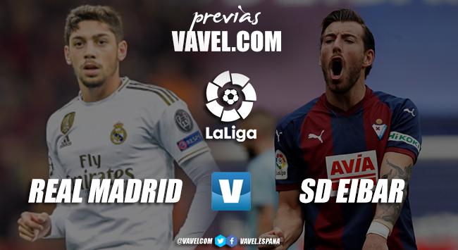 Previa Real Madrid –Eibar:necesidades dispares