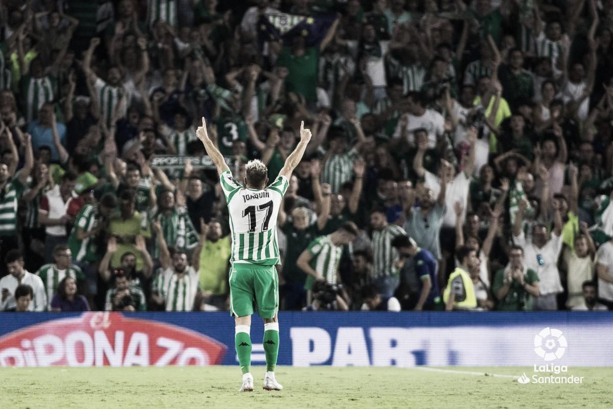 Joaquín sai do banco e garante vitória do Real Betis em cima do Sevilla pela La Liga