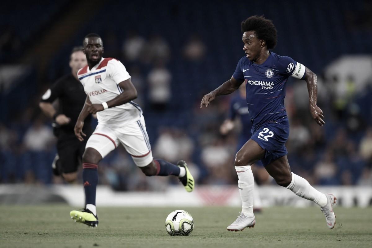 Chelsea vence Lyon nos pênaltis e se despede da Champions Cup