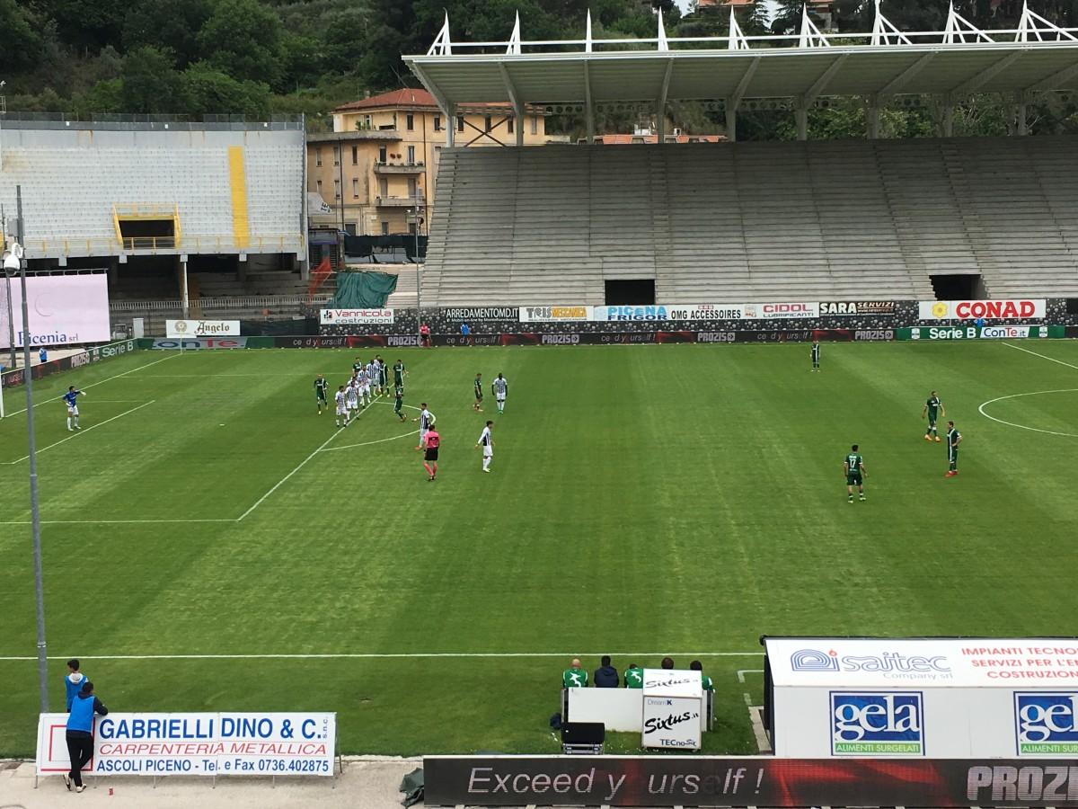 Serie B - Ascoli ed Avellino si dividono la posta in palio (1-1)