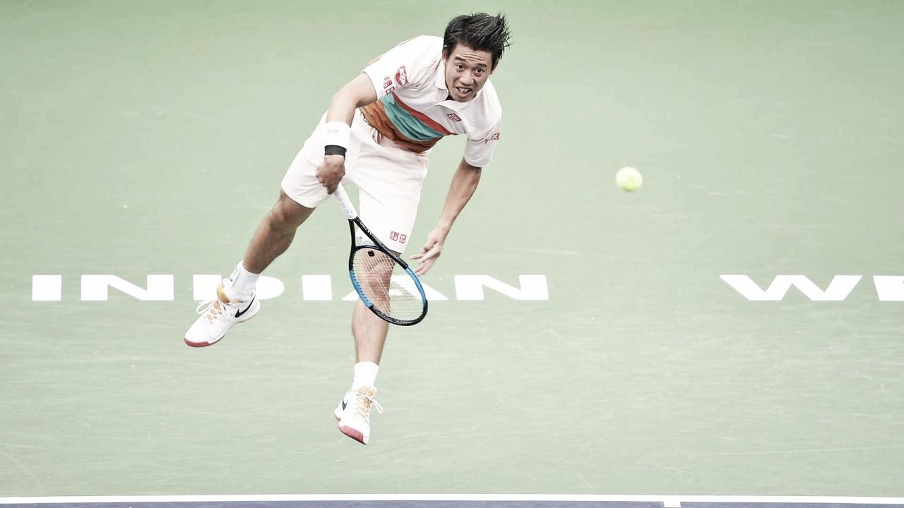 Nishikori vence Mannarino em estreia e avança para próxima rodada em Indian Wells