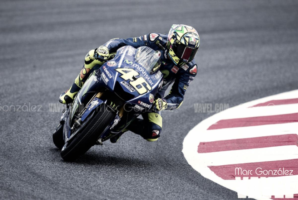 """MotoGP - Rossi: """"Abbiamo un buon passo, fondamentale la scelta della gomma"""""""