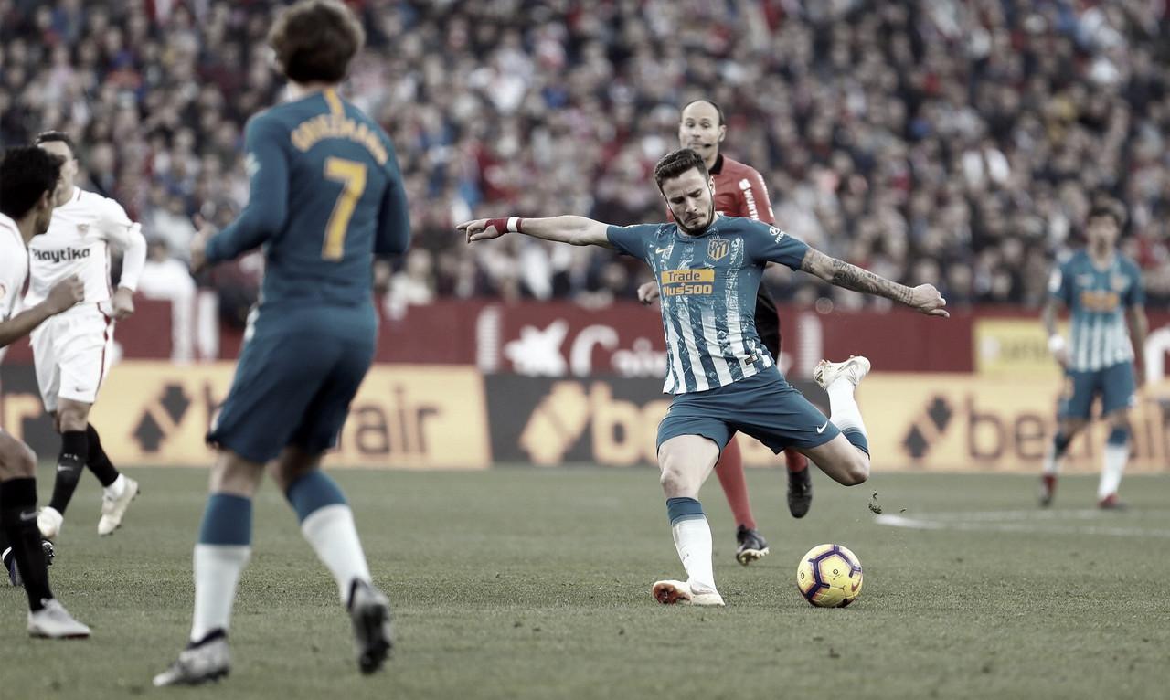 Em jogo truncado, Sevilla e Atlético de Madrid empatam pelo placarmínimo na La Liga