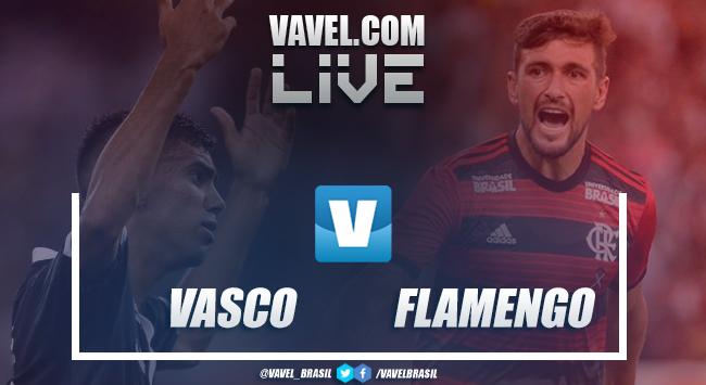 Resultado de Vasco x Flamengo pela partida de ida da final do Campeonato Carioca (0-2)