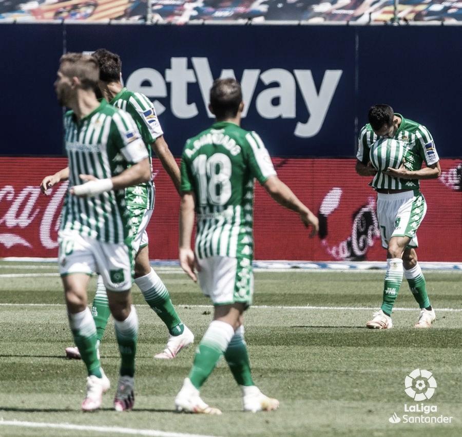 Levante - Real Betis, puntuaciones del Betis, 32ª jornada de LaLiga Santander