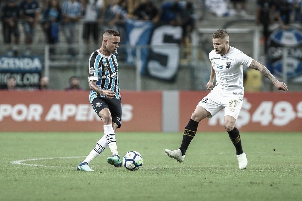Grêmio e Santos duelam com força máxima na estreia do Campeonato Brasileiro