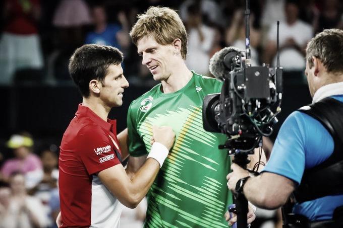 Djokovic leva a melhor em batalha contra Anderson e garante vitória da Sérvia na ATP Cup
