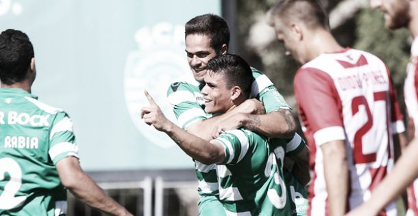 Sporting B passeia 9 milhões na Segunda Liga