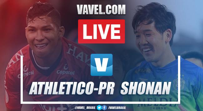 Gols e melhores momentos Athletico-PR 4x0 Shonan Bellmare pela Copa Suruga 2019