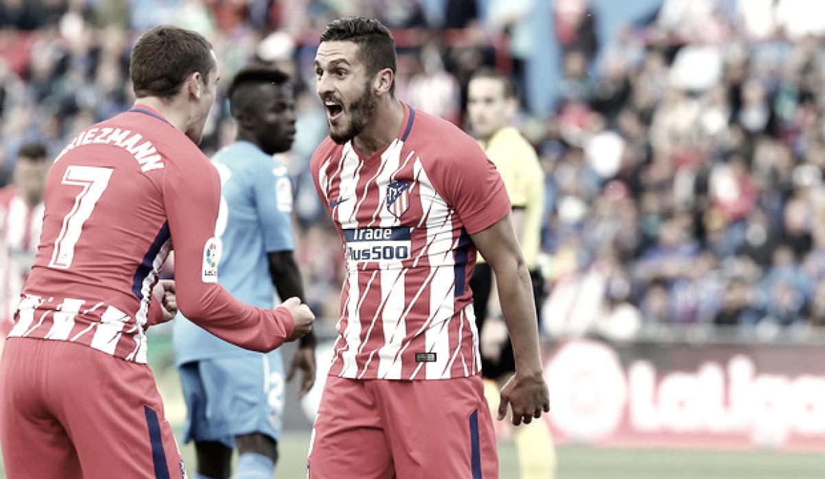 El Atlético sale vivo del Coliseum