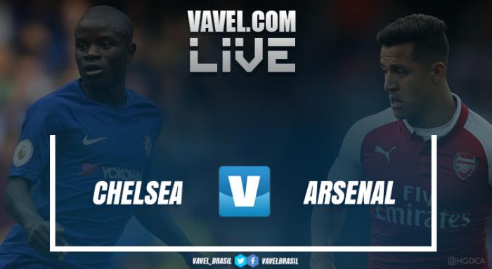 Chelsea e Arsenal sem golos e com David Luiz expulso