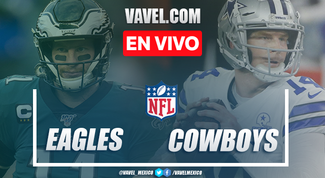 Touchdowns y resumen del Philadelphia Eagles 17-37 Cowboys en la NFL 2020