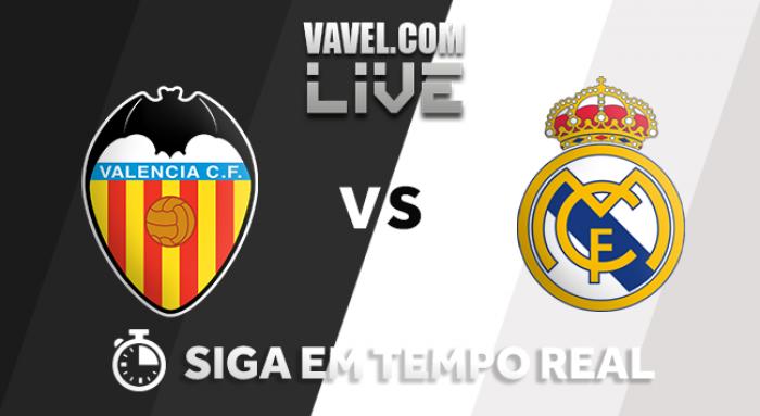 Resultado Valencia x Real Madrid na La Liga 2017/18 (1-4)