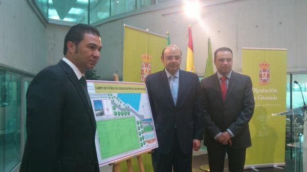 Presentado el proyecto para el nuevo campo de entrenamiento en Armilla