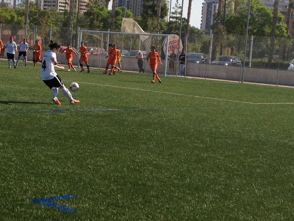 Valencia CF Femenino consigue un empate ante la Real sociedad en el último suspiro.
