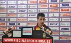 """Álex García """"muy contento"""" por debutar con el Guadalajara"""