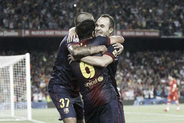 FC Barcelona - Real Madrid: puntuaciones del Barcelona, ida de la Supercopa