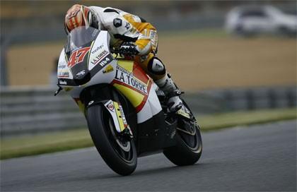 Ángel Rodríguez se queda sin moto