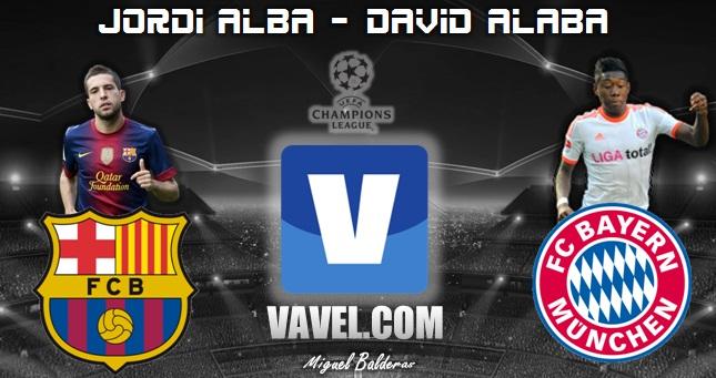 Jordi Alba - David Alaba, más que simples laterales
