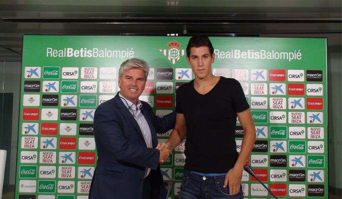 Alexander Alegría ficha por el Real Betis