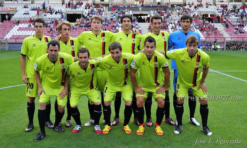 Mirandés - Huesca: los rojillos buscan el mejor debut posible en la Liga Adelante