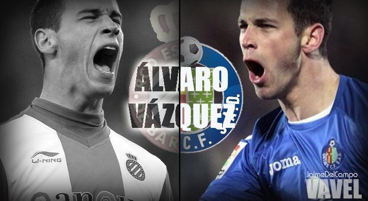 Yo juego en el Getafe: Álvaro Vázquez