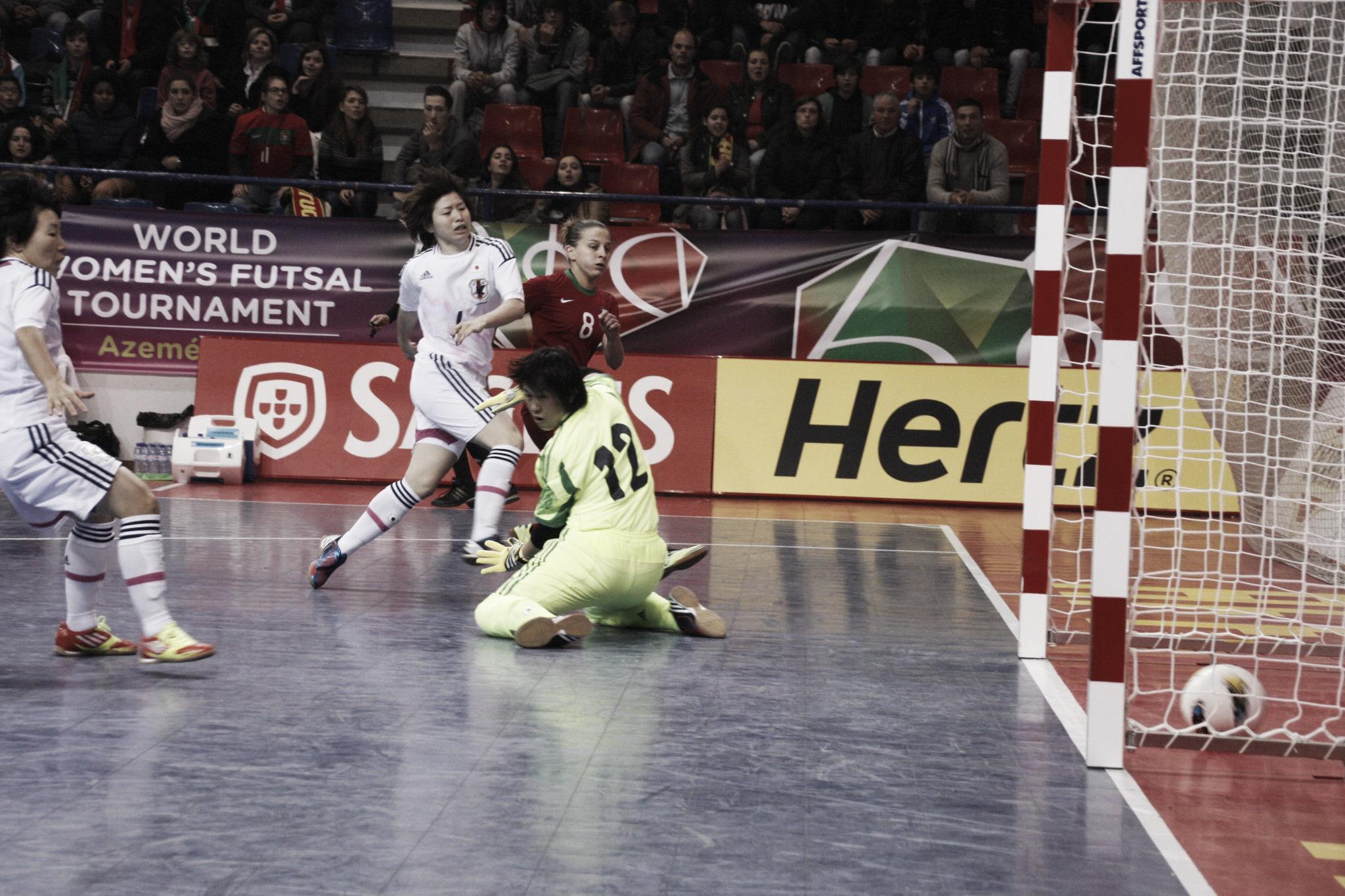 III mundial de fútbol sala femenino: primera jornada