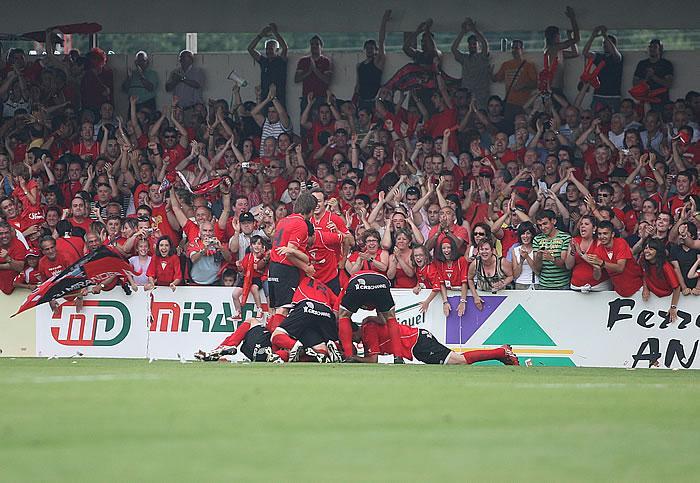 El Mirandés-Athletic, declarado partido de alto riesgo