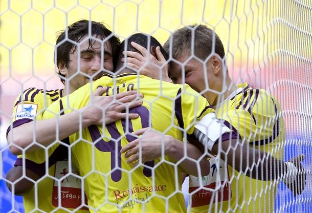 Eto'o vence al Lokomotiv y sitúa el Anzhi en Europa
