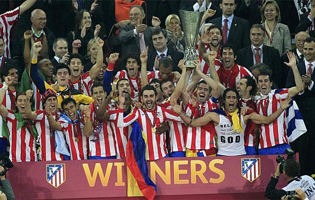 El Atlético de Madrid, representado en los premios World Soccer