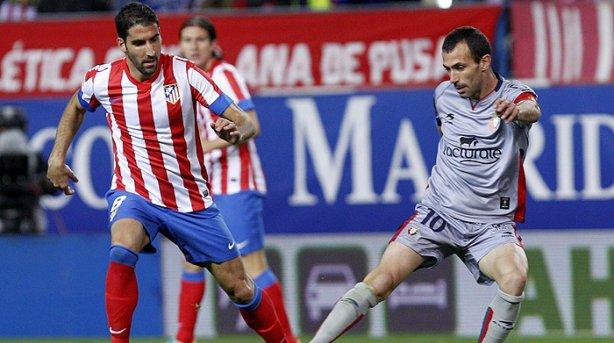 Osasuna se hunde ante la buena racha del Atlético de Madrid