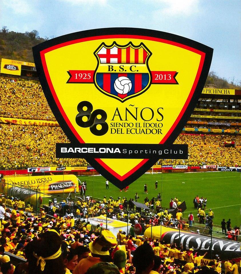 ¡88 años de Barcelona SC! Feliz cumpleaños Barcelona
