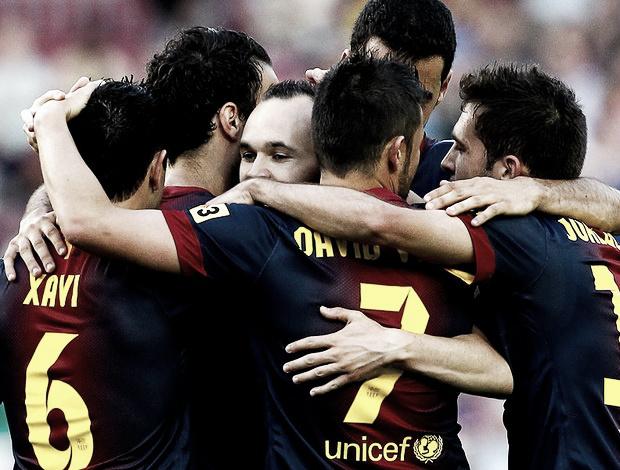 Barcelona goleia Málaga e chega aos 100 pontos no Espanhol