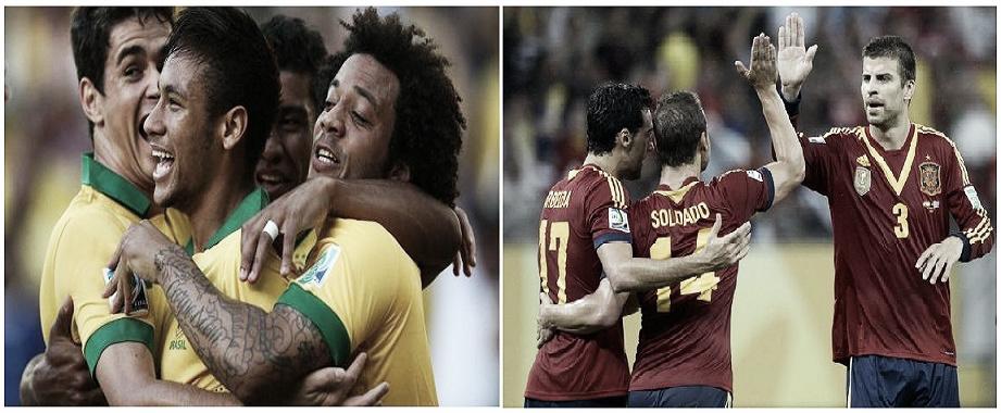 Brésil - Espagne, Coupe des Confédérations en direct
