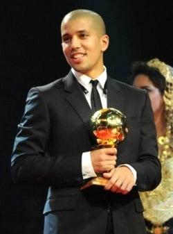 Feghouli, galardonado con el 'Balón de Oro'