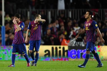 Le Barça pas à la hauteur