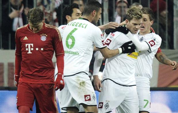 Bayern tenu en échec par sa bête noire
