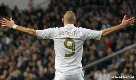 Benzema bate su récord de goles en una temporada