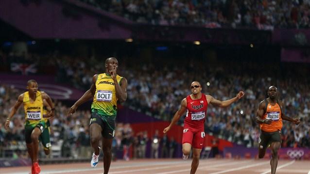 Usain Bolt, el extraterrestre de oro