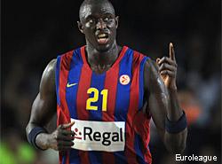 """Boniface Ndong: """"Ellos han venido más preparados, han jugado más agresivos y eso nos ha sorprendido"""""""