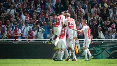 L'AJAX Amsterdam champion d'Eredivisie
