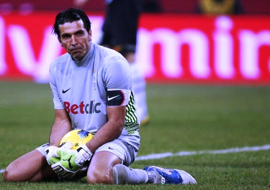 Buffon left pondering how his costly error could decide Juventus' Scudetto propspects.