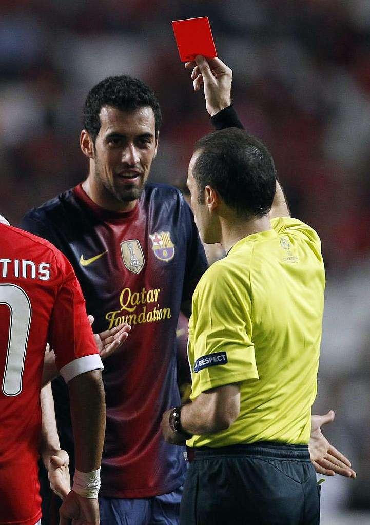 El Barcelona recurre la sanción de Sergio Busquets